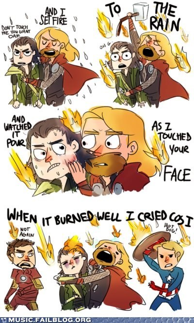 adele avengers captain america comic iron man loki set fire to the rain The Avengers Thor - 6295078400