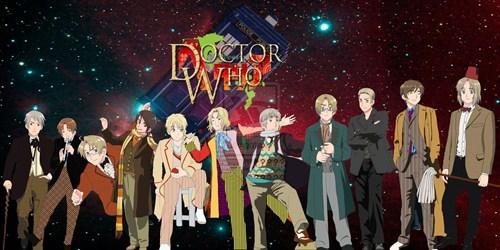 anime best of week crossover doctor who Fan Art hetalia scifi - 6295130368