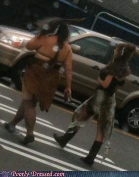 Caveman costume fur pelt tarzan - 6295231744