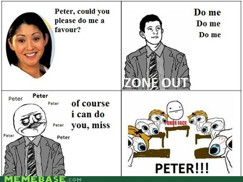 pondering peter,Rage Comics,that sounds naughty,truancy story