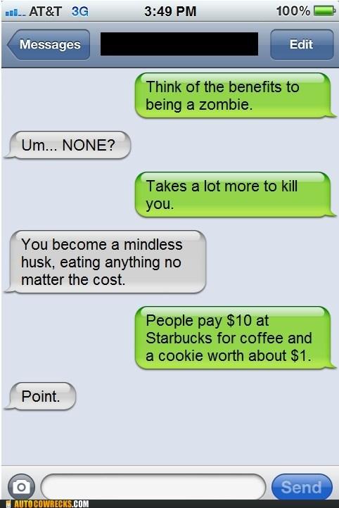 free food grocery bills iPhones zombie - 6295910144
