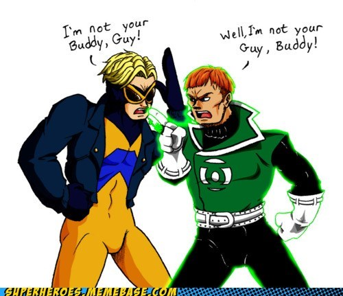 animal man Awesome Art buddy Green lantern guy - 6295927040