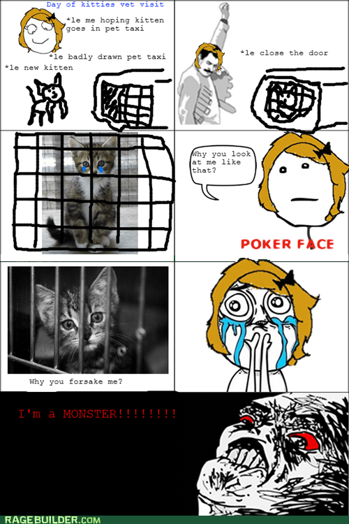 pets,poker face,Rage Comics,raisin rage