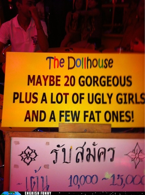 fat girls gorgeous girls Thai thailand ugly girls