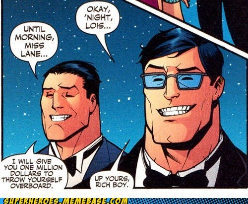 bruce wayne Clark Kent jealous Straight off the Straight off the Page - 6296574208