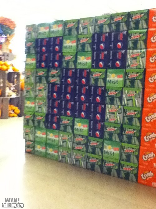 creeper,nerdgasm,soda,store display