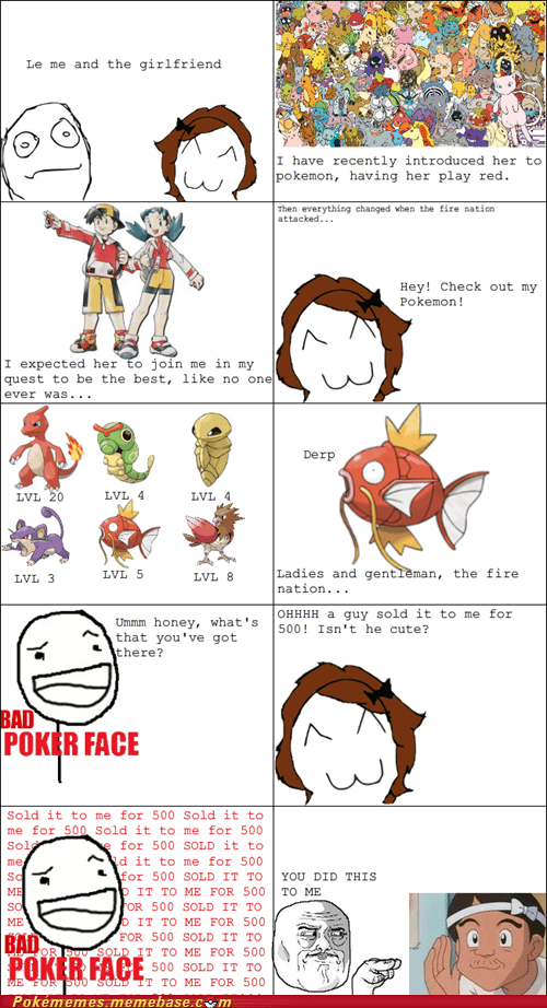 couple,cute,derp,magikarp,rage comic,Rage Comics,salesman
