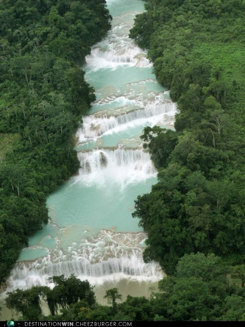 mexico,water,waterfalls