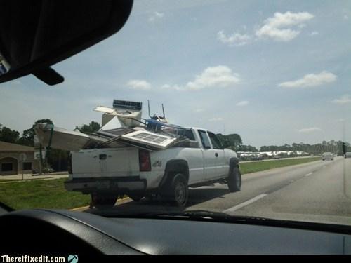 2x4 door heavy load junk load oversize load truck truck bed wood - 6296979200
