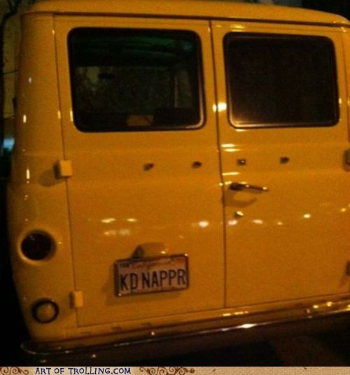 IRL kidnapper license plate r van - 6297010432