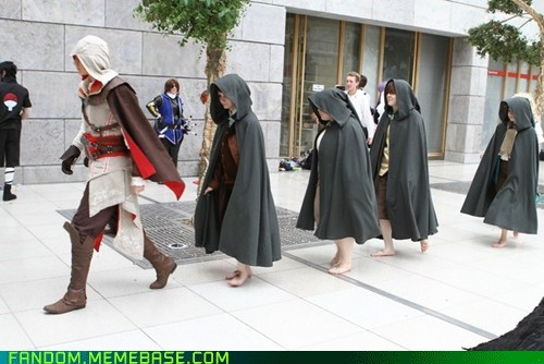 assassins creed,books,cosplay,crossover,Lord of the Rings,movies,video games
