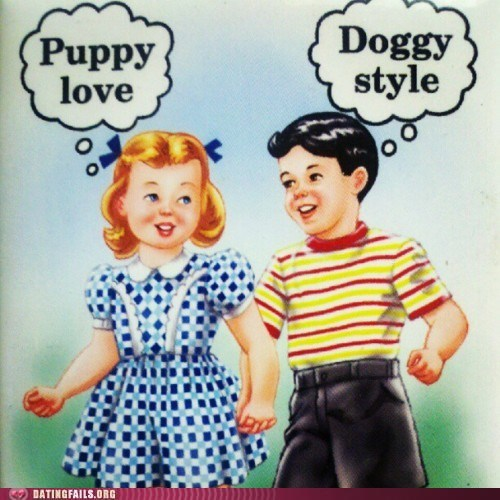 doggy style,puppy love,same thing,sex positions