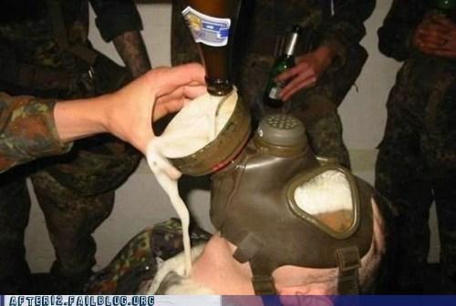 beer bong beer mask gas mask - 6297170432