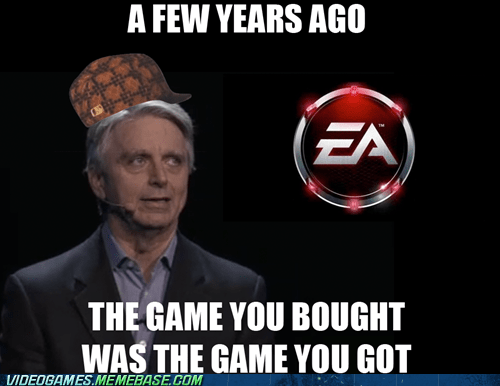 DLC e3 EA meme on disc scumbag - 6297252352