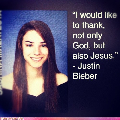 funny justin bieber quote wut yearbook - 6297342720