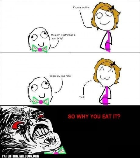 brother mommy pregnant Rage Comics - 6297346304