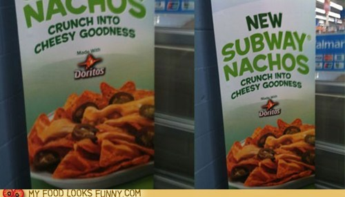 chips doritos nachos sandwiches Subway - 6297386496