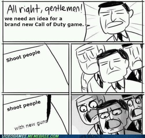 activision best of week call of duty meme new guns video games - 6297395200