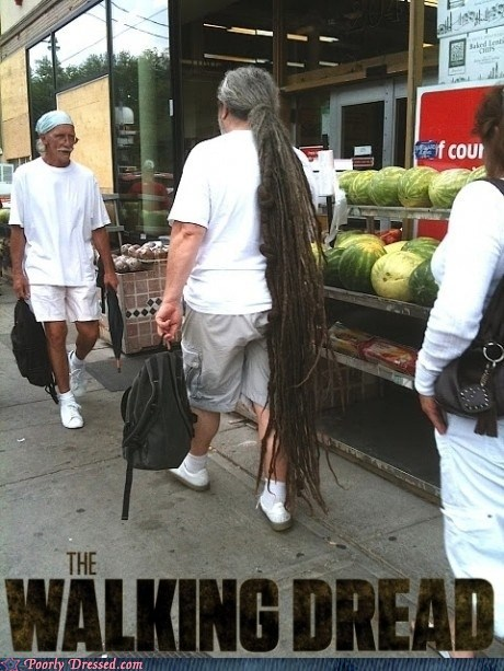 dreadlocks dreads hair zombie - 6297405952