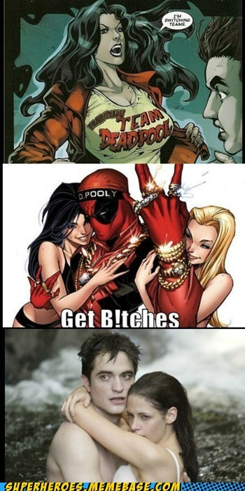 deadpool,Super-Lols,team,twilight