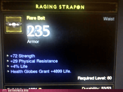 diablo 3 raging strapon rare belt - 6297532672