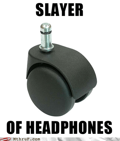 beats by dre,chair,chair wheels,headphone cord,headphones,office chair,office chair wheels,slayer
