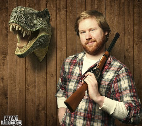 BAMF,hunting,manly,t rex,trophy