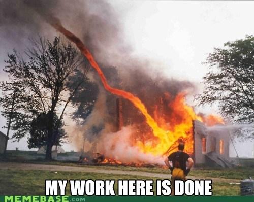 fire fireman kentucky Memes tornado work - 6297807872