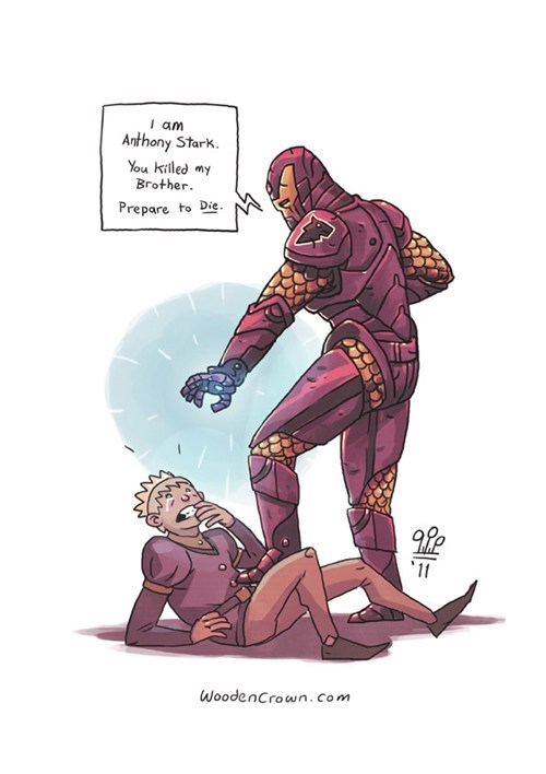 anthony stark best of week crossover Fan Art Game of Thrones ironman princess bride - 6297891840