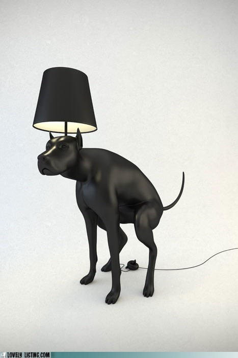art dogs lamp poop - 6298000896