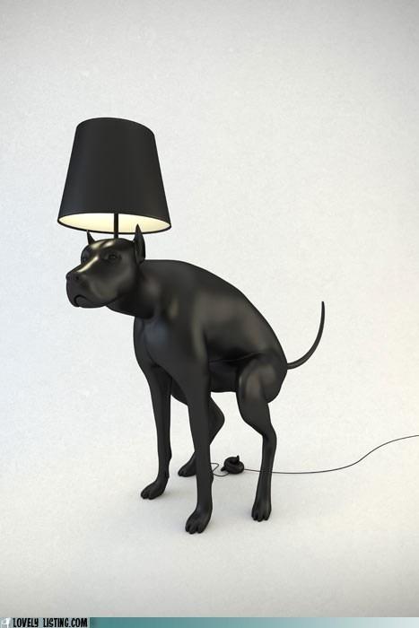 art dogs lamp poop - 6298000896