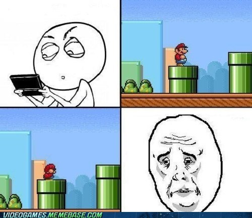 mario okay guy rage comic warp pipe - 6298391552