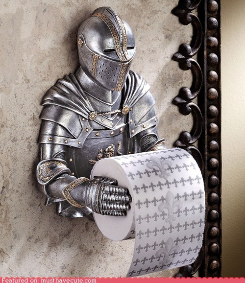bathroom fixture holder knight toilet paper
