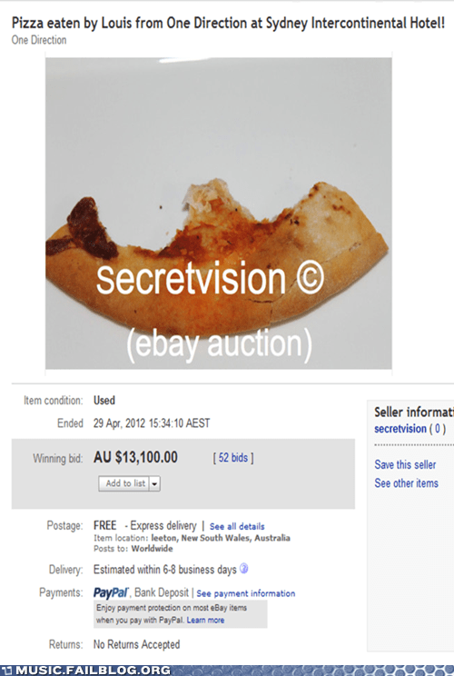 ebay,one direction,pizza,pop