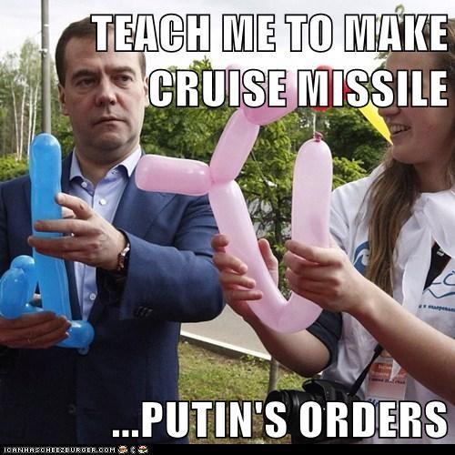 Balloons,Dmitry Medvedev,political pictures,Vladimir Putin