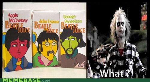 beatles beetlejuice Memes ring three times - 6299049216