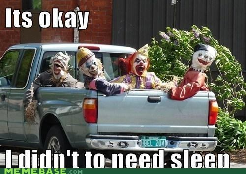 sleep,terror,The Shadowlurker,truck
