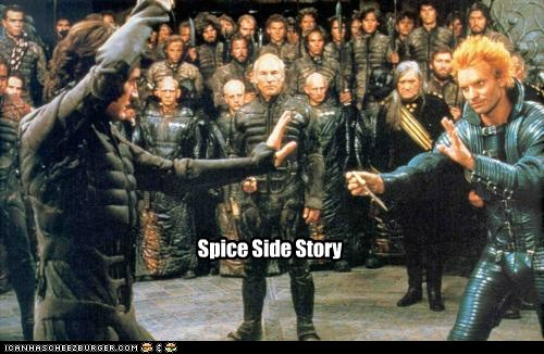 Dune Knife fighting kyle maclachlan paul atreides space sting west side story - 6299197440