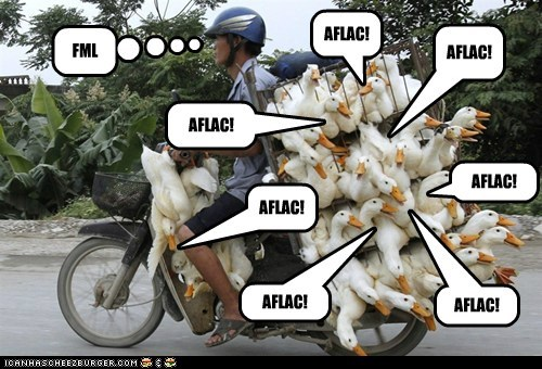Aflac,ducks,political pictures