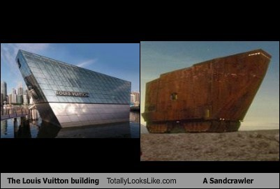 building funny Louis Vuitton Movie sandcrawler star wars TLL