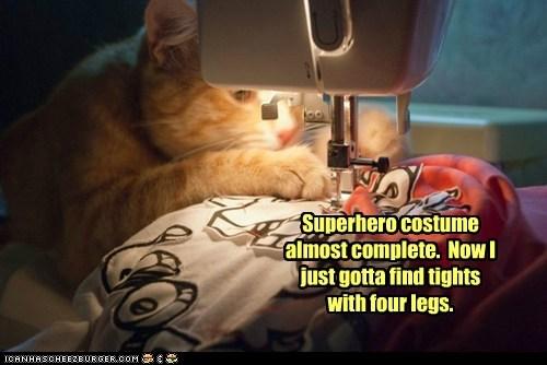 cat costume make superhero - 6299715328