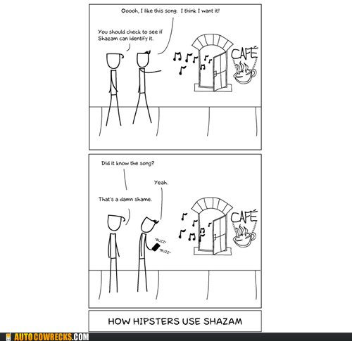 doghouse diaries,hipsters,Shazaam