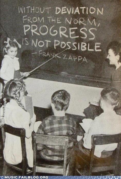 frank zappa,school,zappa