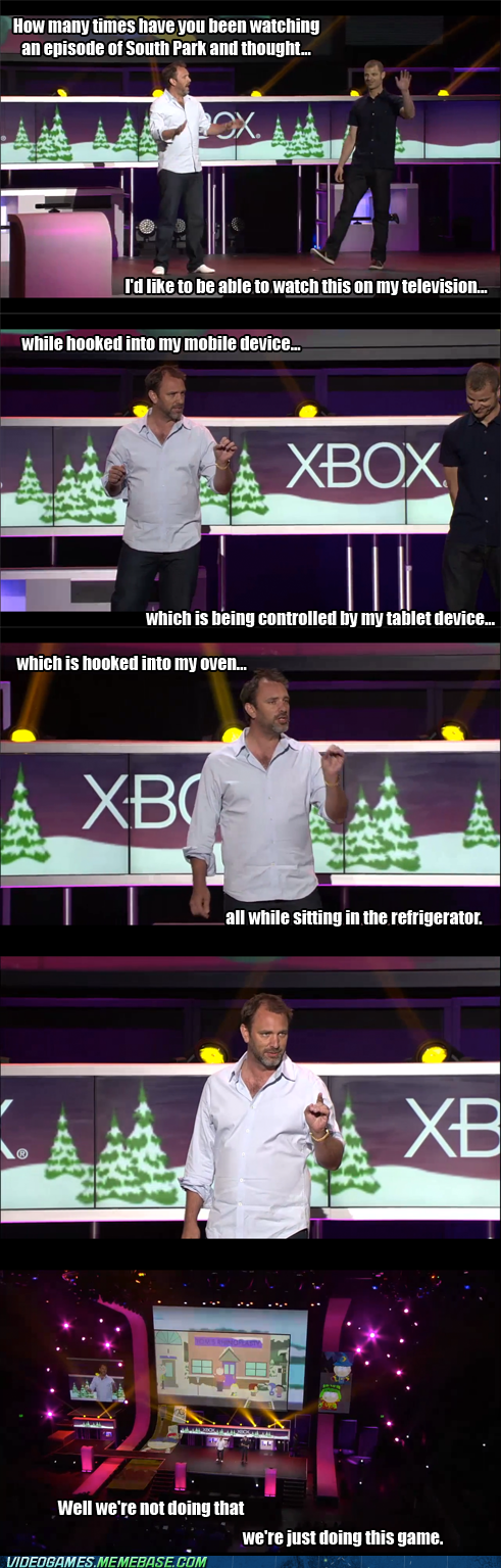 best of week,e3,IRL,Matt Stone,microsoft,RPG,South Park,trey parker