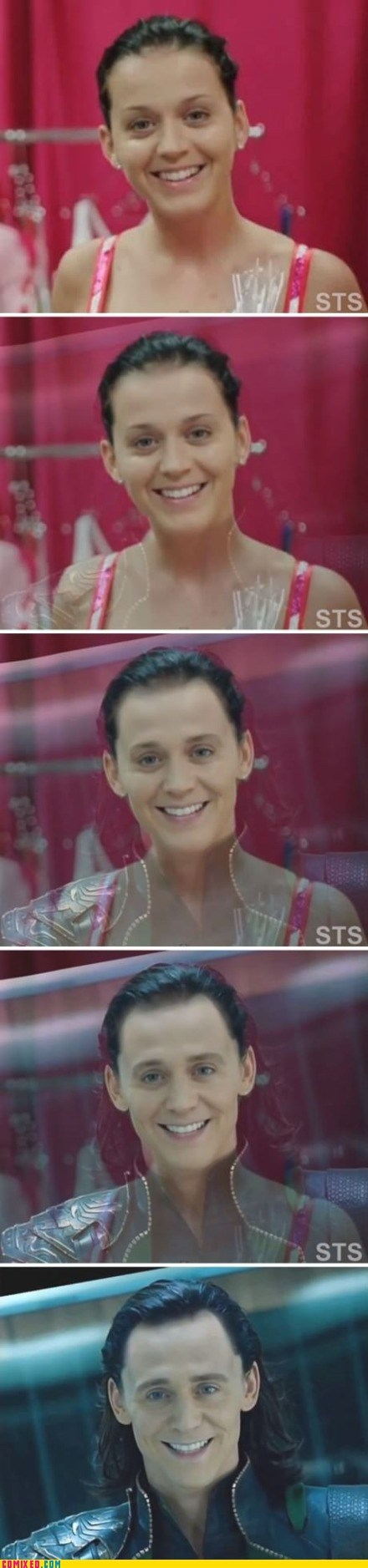 best of week,From the Movies,katy perry,loki,Memes,photoshop,The Avengers