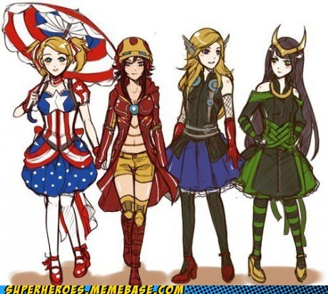 avengers,Awesome Art,girls,style