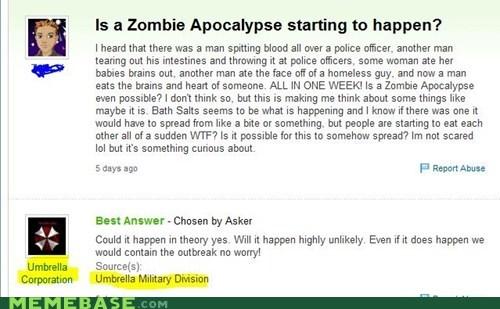 video games Yahoo Answer Fai Yahoo Answer Fails zombie - 6299943680