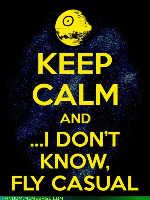 Fan Art keep calm scifi star wars - 6300096256