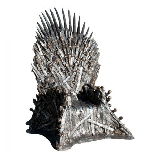 Game of Thrones hbo iron throne replica tv shows