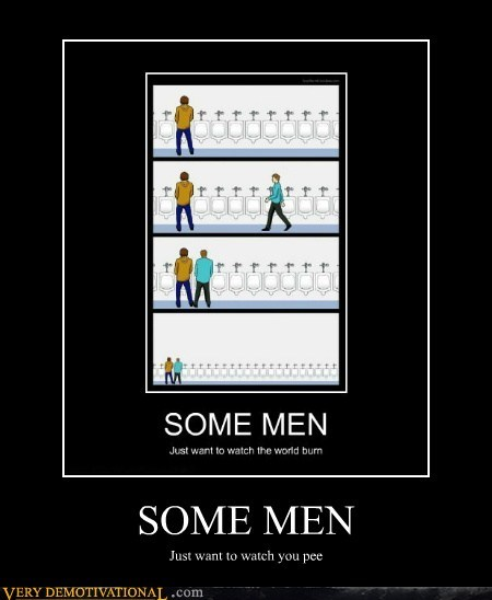 hilarious,pee,some men,urinal